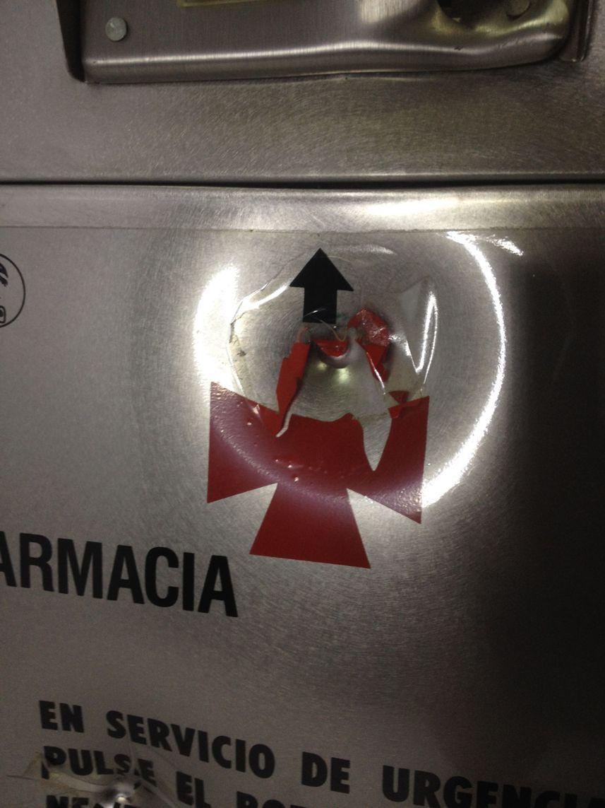 Guardiero dispensador para farmacia