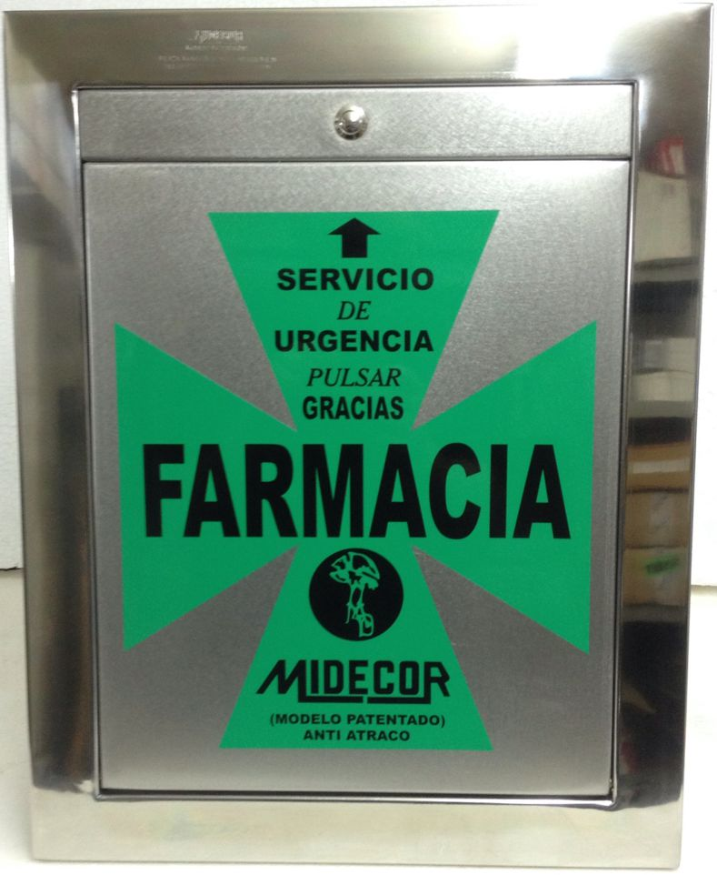 Guardiero Dispensador Farmacia Midecor Portugal Timbre Inalambrico